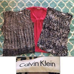 Calvin Klein Tops - 3 Calvin Klein sleeveless business casual bundle